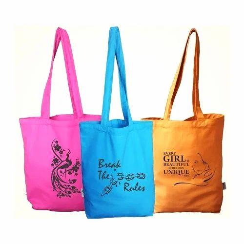 43eb445efe Canvas Cotton Tote Printed Bags