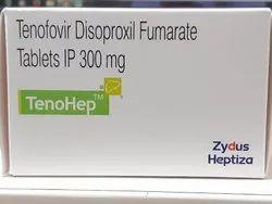 Tenohep 300mg Tablets Pack - 10''s ( Tenofovir 300mg Tablets - Zydus )