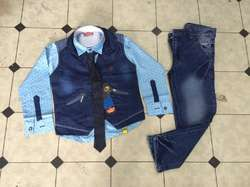Denim Full Jacket