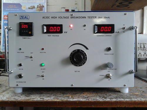 Zeal 3 1 2 Ac Dc High Voltage Breakdown Tester Zmadhbt