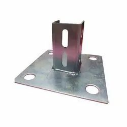 Base Plate, For Solar Panel Fitting, Size: 150x150