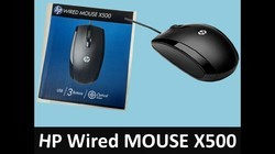 HP MOUSE USB X500
