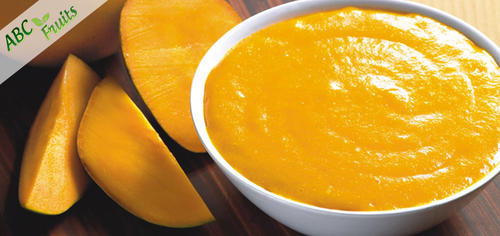 ABC Fruits The Amazing Organic Alphonso Mango Puree/Pulp, Packaging Type: Drum, Packaging Size: 215 Kgs