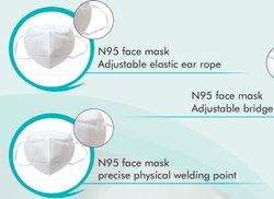 N95 White 5 Layer Mask