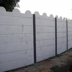 7 Feet RCC Compound Wall