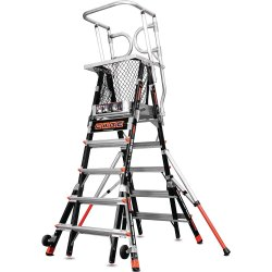Safety Cage Articularing Ladder