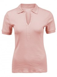 Full And Half Sleeves Women Multicolor Polo Neck Collar T Shirts