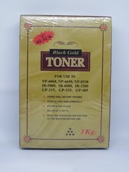 Neha Black Gold Toner For Use In Canon IR-6000,IR-3300,IR-5075,IR-8530,IR-5000,IR-400