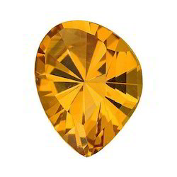 Shining Fancy Cut Shape Real Citrine Stones