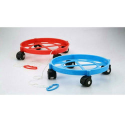 Plastic Kitchen Gas Cylinder Trolley