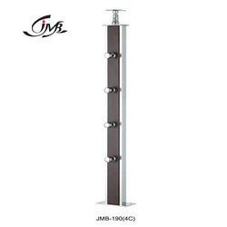 JMB Stainless Steel Wooden Stairs Baluster