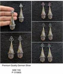 Festive Jewellery - Cornet Earrings