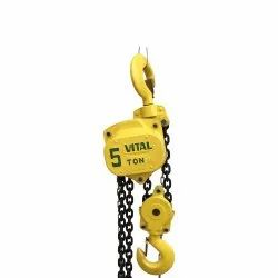 ISI Mark Certification For Hand Operated Chain Pulley Block