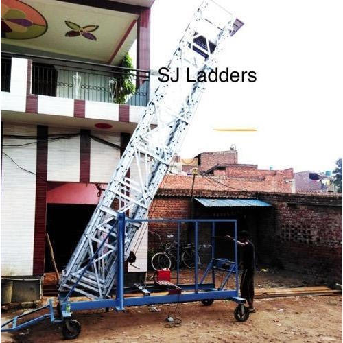 Tower Ladder - Aluminum Tower Wheeled Ladder Manufacturer