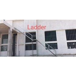 Exterrior Mild Steel Staircase