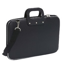 de5e4b4c44 Pu Leather Black Stylish Conference Bag