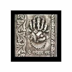 PU-FOAM Square 10x 10 Lightweight Panchmukhi Ganesha