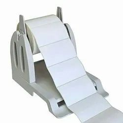 Chrome Paper Direct Thermal Barcode Label 100mmx150mm White Polyester, Packaging Type: Roll