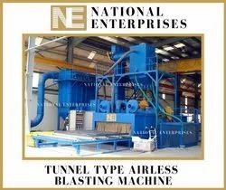 Tunnel Type Special Shot Blasting Machine