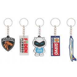 Silicone Rubber Keychain - Silicone Rubber Key Chain Latest