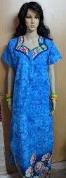 Rudra Half Summer Cool Nighties, 10 To 80, Size: XL