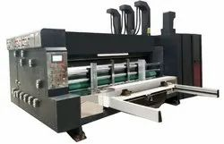 Auto Feed Two Colour Flexo Printer With Rotary Die