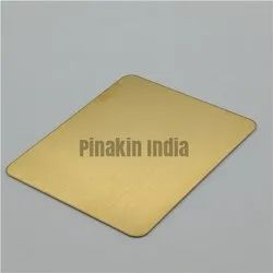 Stainless Steel Gold Hairline Sheet