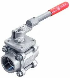 Uni-Tech Three Piece Design Screw End Ball Valve, Size: 15mm To 50mm, UTBV3S1