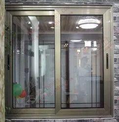 Aluminium Powder Coating Sliding Windows And Glass Works