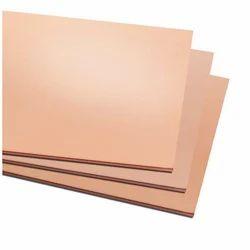 Rectangle Beryllium Copper Sheet