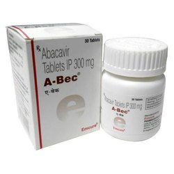Abacavir 300 Mg Tablet-  A-Bec