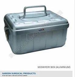 Midwifery Box (Aluminium)