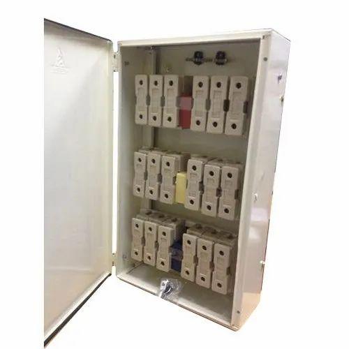 three phase fuse distribution board, ip rating: ip44, rs 6000 /unit   id:  11824276755  indiamart