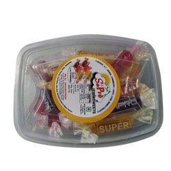 12 Month Tasty Sapro Mix Fruit Jelly Candy, Packaging Type: Plastic Jar