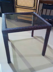 Cane Outdoor Table