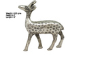 White Metal Deer