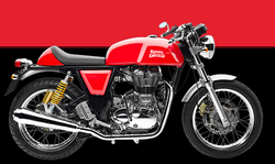 Royal Enfield Continental Gt Red Repairing Services