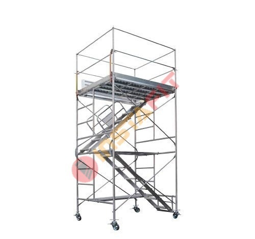 Aluminium Mobile Tower Scaffold Aluminium Rolling