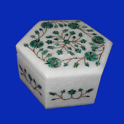 Handmade Marble Trinket Box