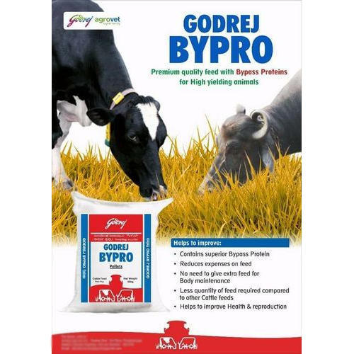 Godrej Bypro Cattle Feed, Packaging Type: Plastic Sack Bag