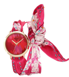 Pink Dial Analog Watch For Women