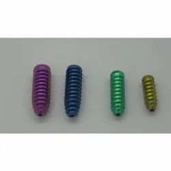 Titanium Interference (ACL) Screws