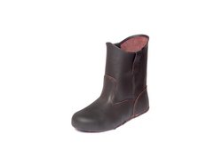 Brown Safety Shoe Upper Lining- Unlined