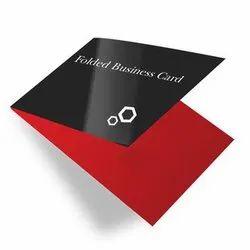 Folded Visiting Card
