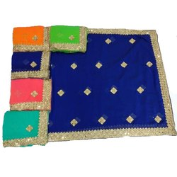 Fancy Mirror Work Saree