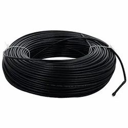Pvc, Copper Black Finolex Power Cables, Nominal Voltage: 1100 V, Packaging Type: Roll