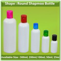 Round Shape Fancy Shampoo Bottles