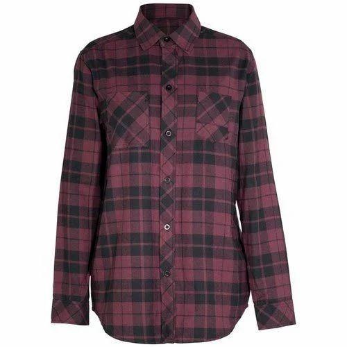 34f8af046d Checks Women Shirt
