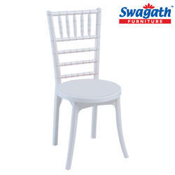 Posh White Chair