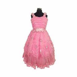Girls Pink Evening Gown